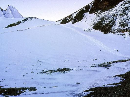 Aufstieg - Col de Cheilon