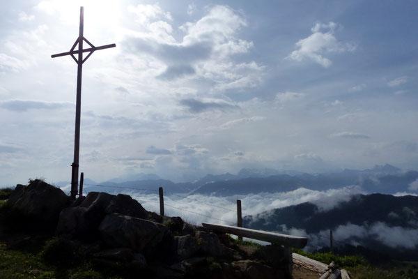 Am Rickhubel-Gipfel - 1920 M