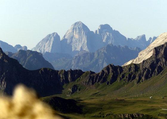 Gipfelblick - Sas Rigais, 3025 M