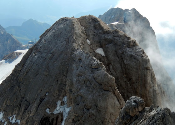 Gipfelblick gen Ost - Punta Rocca, 3309 M
