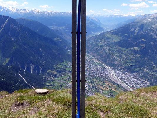 Am Gipfel des Folluhorn - 2657 M
