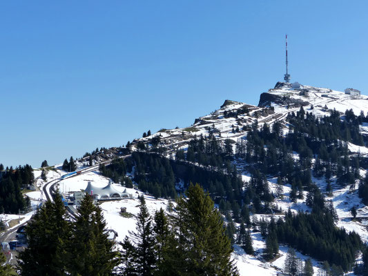 Gipfelblick nach Nord - Rigi Kulm