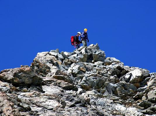 Piz Bernina-Gipfel - 4048 M