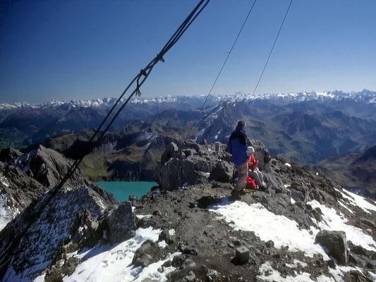 Am Gipfel - 2965 M