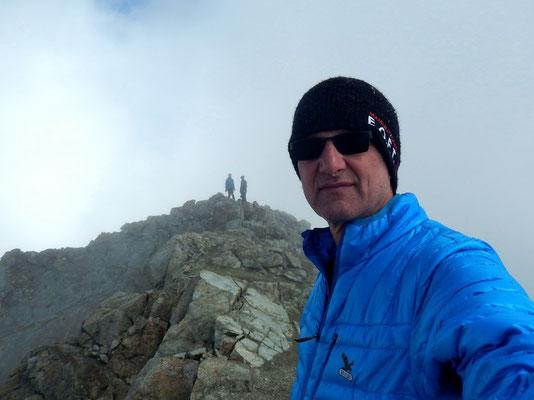Am Gipfel des Piz Julier - 3380 M