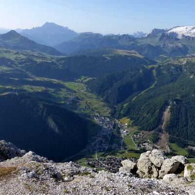Gipfelblick ins Val Badia