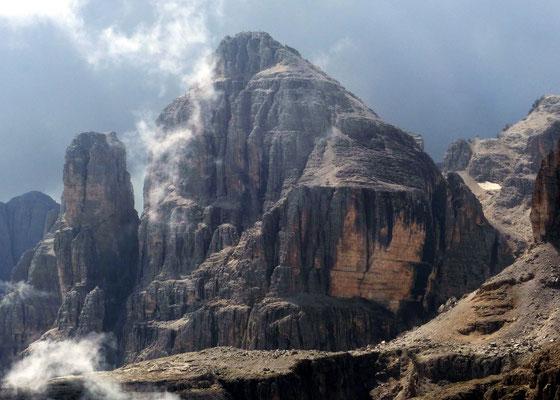 Gipfelblick - Cima Pisciadù, 2985 M