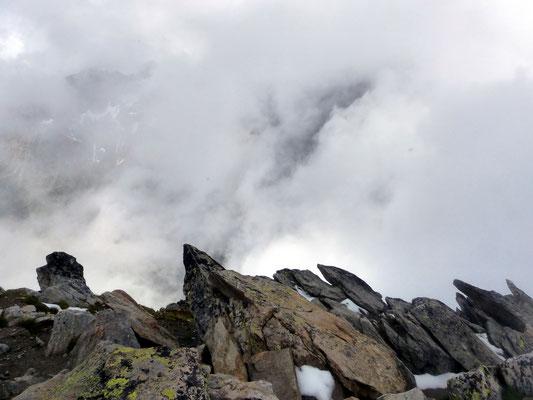 Gipfelblick nach W