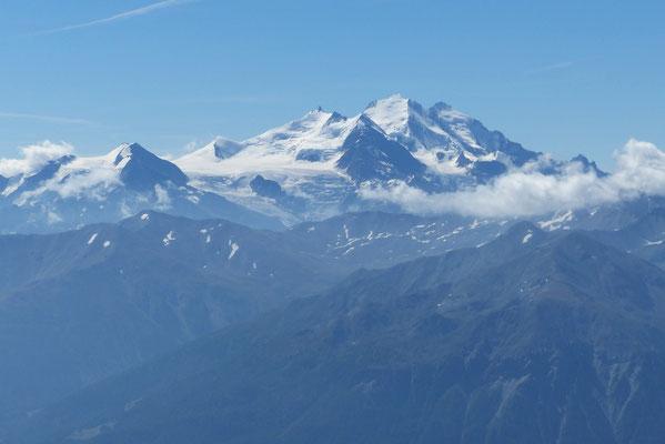 Gipfelblick: Balfrin, Mischabel