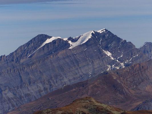 Gipfelblick - Altels 3629 M - Balmhorn 3698 M