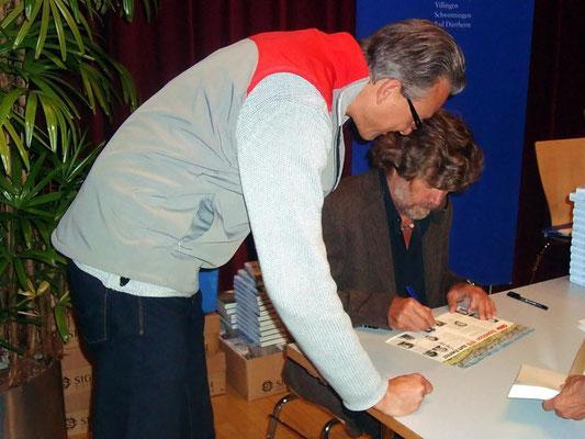 Motiv 15 - Hanspeter Schmider und Reinhold Messner - Donaueschingen 2009