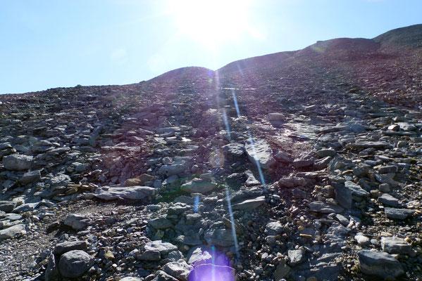 Aufstiegsflanke