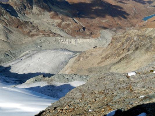 Gipfelblick - Glacier de Moiry