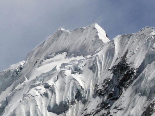 Island Peak-Gipfelaufbau