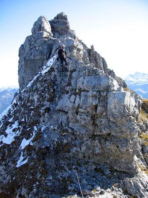 Abstieg - Mittler Eggstock