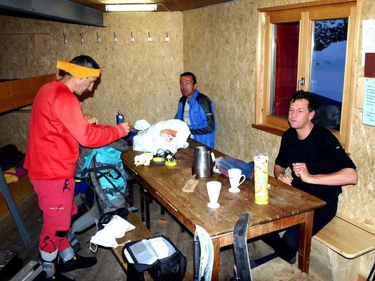 Winterquartier - Cabane des Dix
