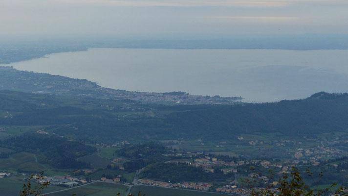 Gipfelblick zum Gardasee