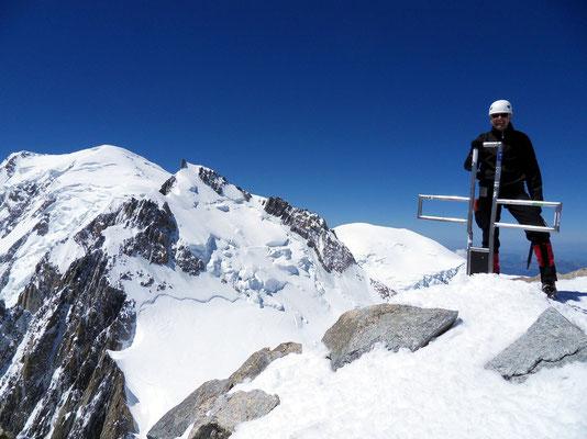 Persönliches Gipfelbild - 4248 M