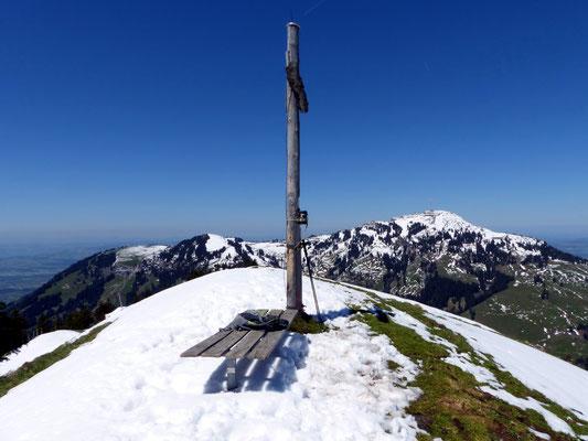 Am Gipfel des Dossen - 1685 M