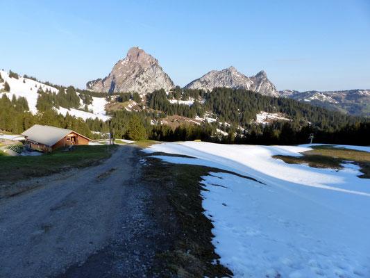 Zwischen Ibergeregg und Holzegg