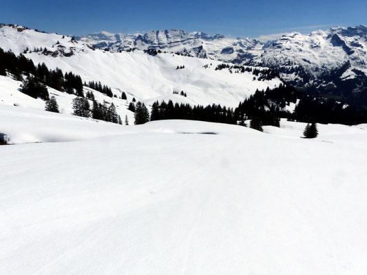 Glarner Alpen und Chaiserstock-Bergkette
