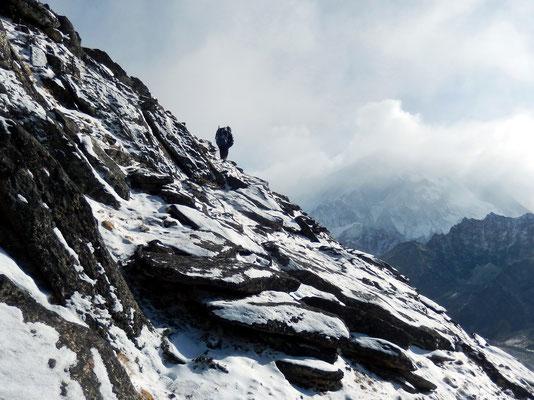 In der Awi Peak-Südflanke