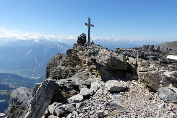 Daubenhorn-Gipfel - 2942 M