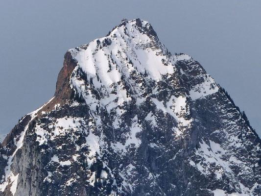 Gipfel des Gross Mythen - 1898 M