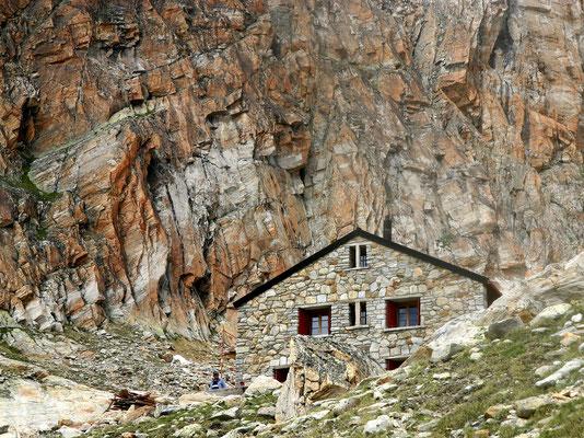 Almagellerhütte - 2894 M