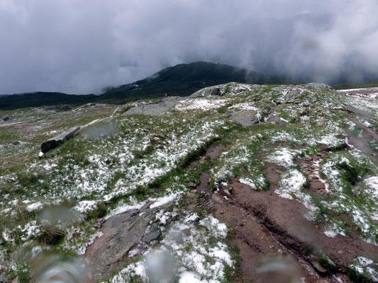 Alpiner Pfad in Richtung Hohbiel