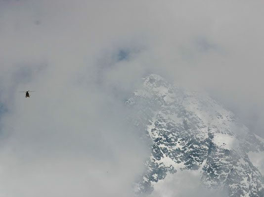 Verhüllter Gipfel