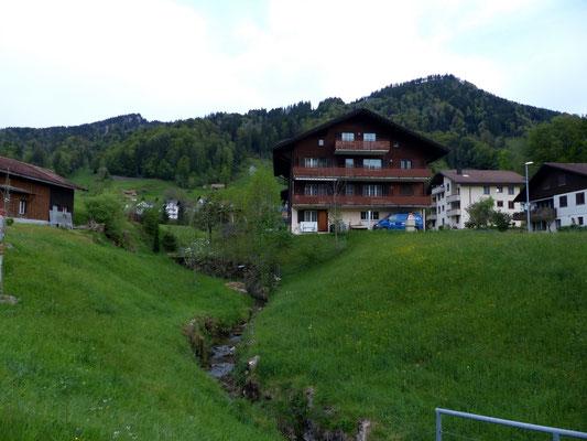 Ausgangspunkt - Bergdorf Sattel, 772 M