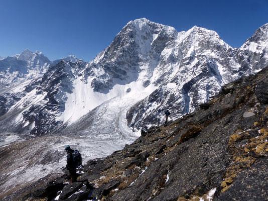 Abstieg vor Taboche - 6542 M