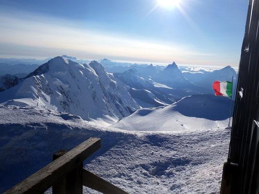 Blick zur Matterhorngruppe