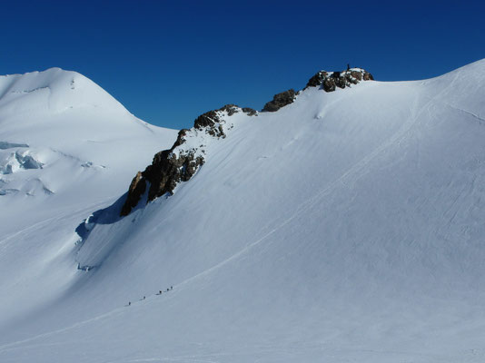 Abstieg vor Balmenhorn