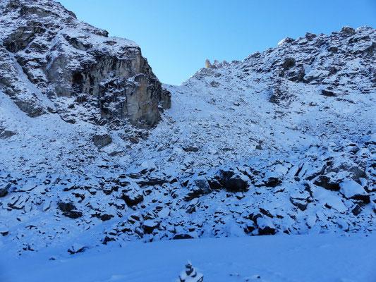 Flanke zum Col des Roux