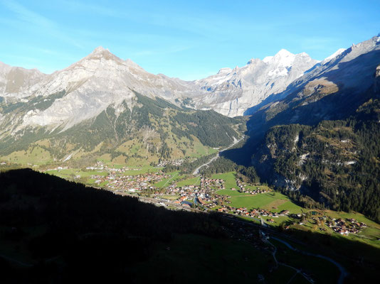 Blick auf Kandersteg u. Doldenhorn
