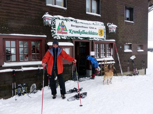An der Krunkelbachhütte - 1294 M