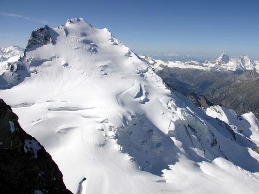Dom-Nordflanke vor Matterhorn