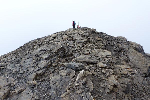 Am Gipfel des Oldenhorn