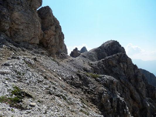 Gipfel der Pala di Mesdi - 2756 M
