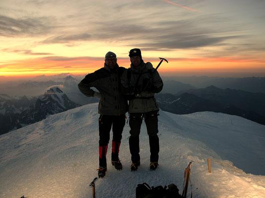 Am Gipfel - HP & Marius