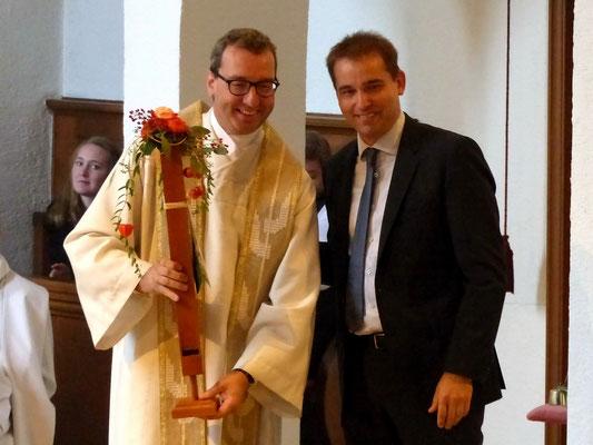 Gastgeschenk - Die 1155-ste Orgelpfeife für Pfr. Herrmann