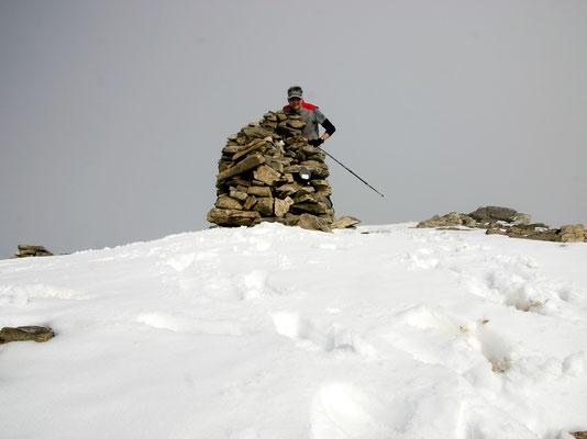 Persönliches Gipfelbild - 2887 M