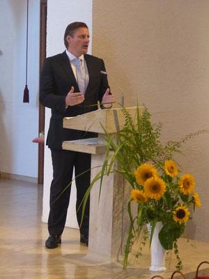 Ansprache des PGR-Vorsitzenden Udo Winkelmuth