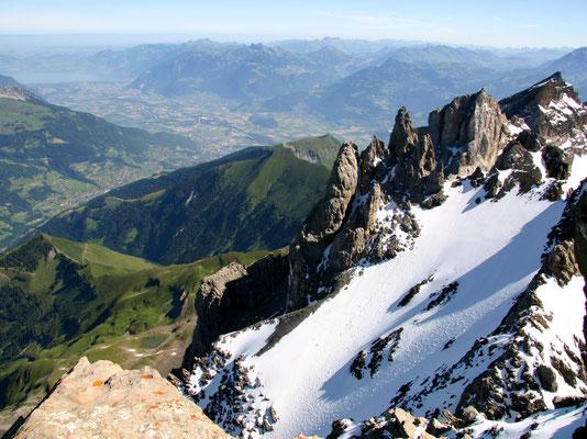 Gipfelblick zum Lac Léman