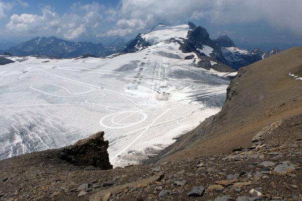 Aufstieg zum Gipfel - Les Diablerets