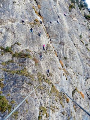 Obere Wand - Steig