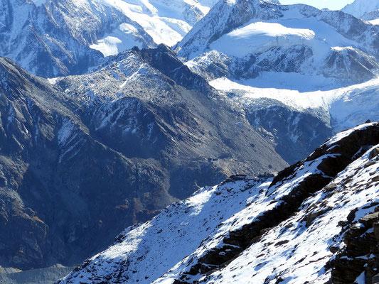 Gipfelblick zur Cabane de Moiry