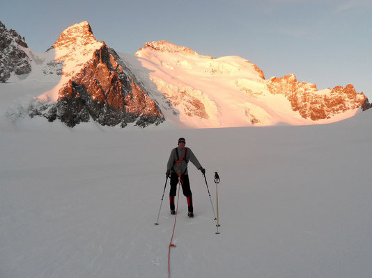 Früh - Auf dem Glacier Blanc